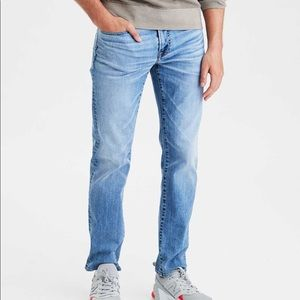 American Eagle | Flex Light Wash Original Straight